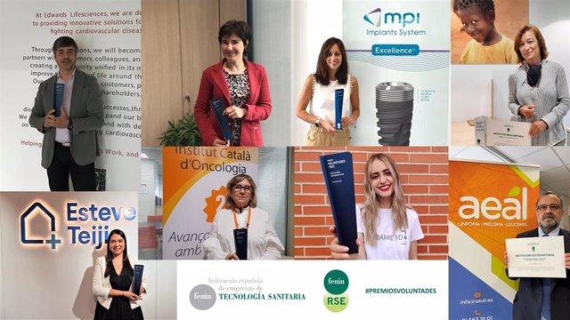 Fenin reconoce 8 iniciativas de responsabilidad social empresarial de empresas de tecnología sanitaria y organizaciones del ámbito sociosanitario