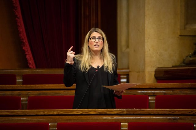 Archivo - Arxiu - La vicepresidenta de JxCat, Elsa Artadi.