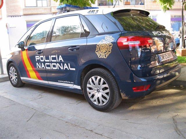 Archivo - Arxiu - Cotxe de la Policia Nacional.