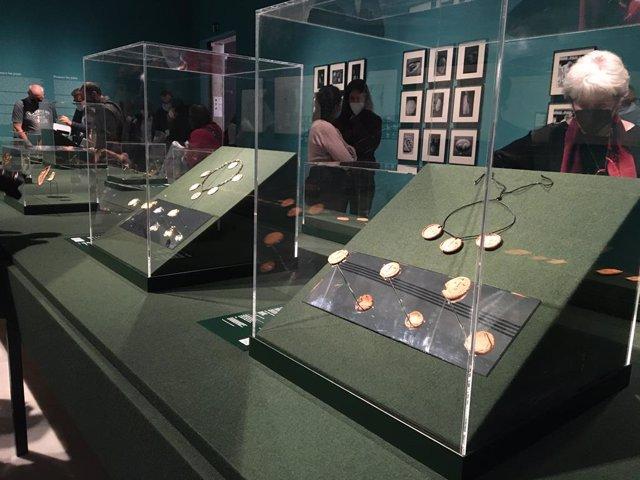 L'exposició 'Picasso i les joies d'artista' al Museu Picasso de Barcelona.