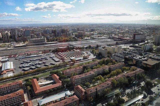 Archivo - Fotos de recurso del proyecto urbanistico Madrid Nuevo Norte.