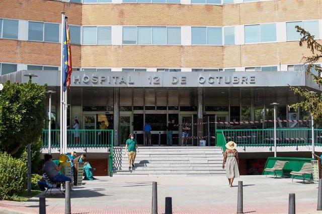 Archivo - Fachada del Hospital 12 de Octubre de Madrid