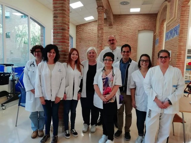 Grupo investigador del Hospital Universitari Institut Pere Mata de Reus (Tarragona) que ha llevado a cabo el estudio.