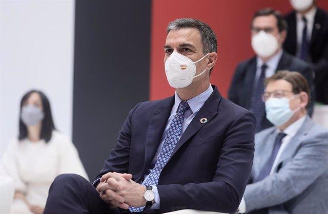 Pedro Sánchez presenta el certificado verde digital en FITUR 2021