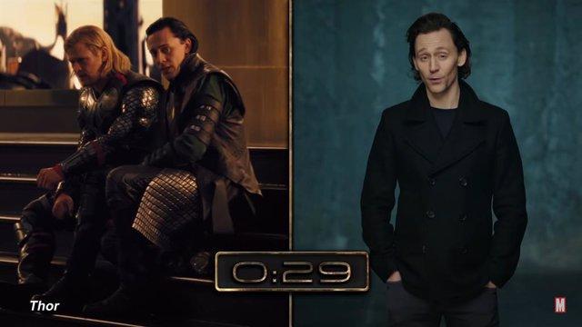 Tom Hiddleston repasa toda la historia de Loki en Marvel en medio minuto