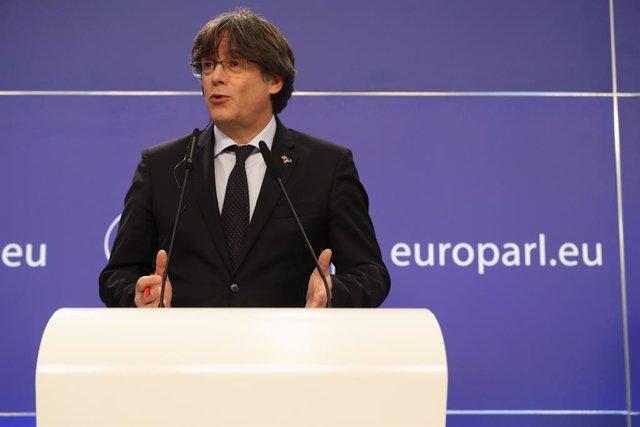 Archivo - Arxiu - L'expresident de la Generalitat Carles Puigdemont.