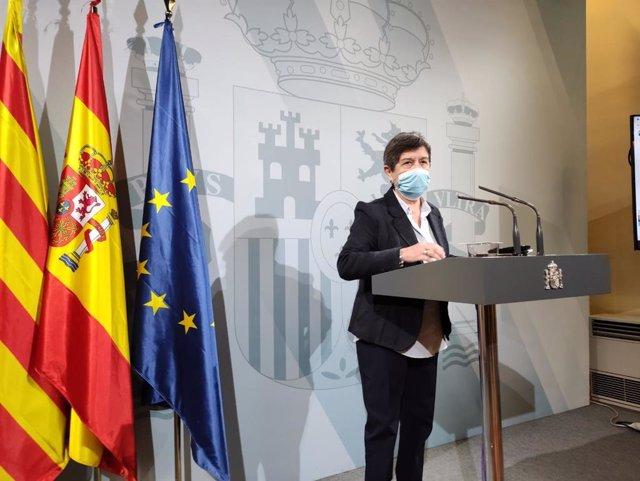 Archivo - Arxiu - La delegada del Govern central a Catalunya, Teresa Cunillera.