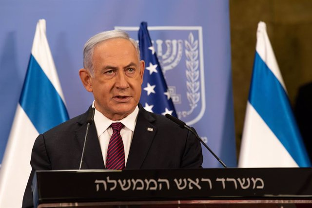 Archivo - Arxiu - El primer ministre d'Israel, Benjamin Netanyahu.