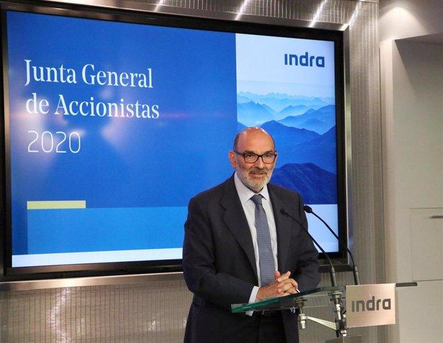 Archivo - Arxiu - Fernando Abril-Martorell, president d'Indra.
