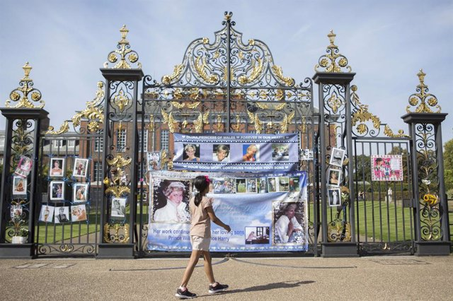 Archivo - Arxiu - Homenatges a la princesa Diana en l'aniversari de la seva mort.
