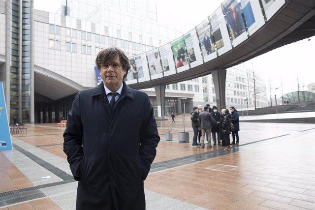 Archivo - El expresidente de la Generalitat, Carles Puigdemont, en una imagen de archivo.