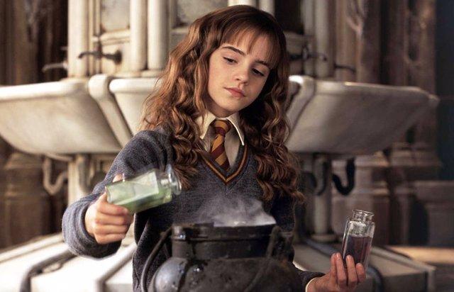 Emma Watson es Hermione en Harry Potter