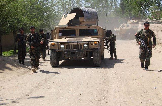 Imagen de archivo de una operación del Ejército de Afganistán