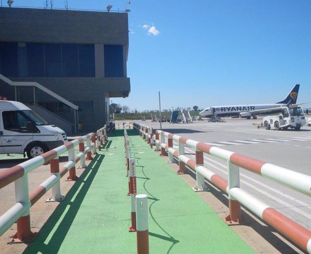 Archivo - Arxivo - Senyalització Aeroport de Girona