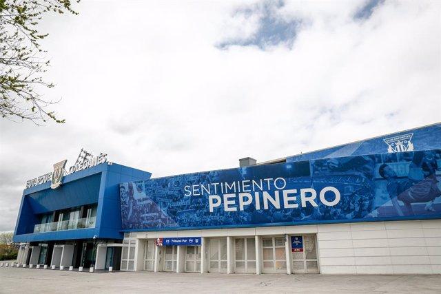 Archivo - Estadio de Butarque, Leganés