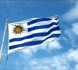Archivo - Bandera Uruguay