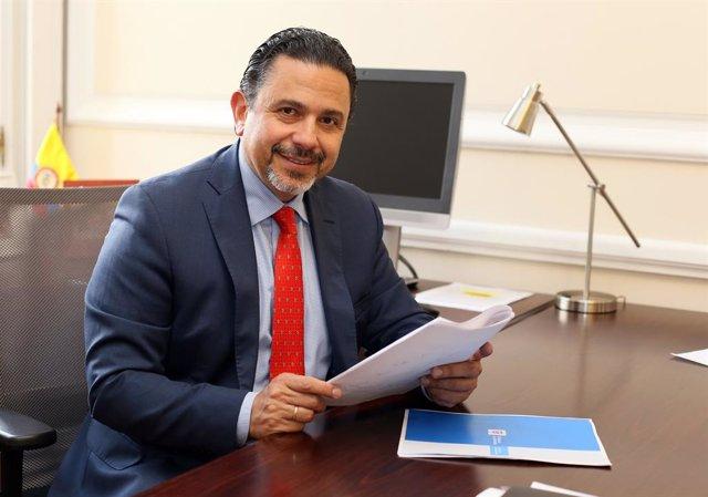 El Alto Comisionado para la Paz de Colombia, Miguel Ceballos