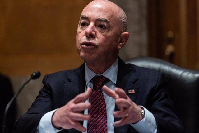 El secretario del Departamento de Seguridad, Alejandro Mayorkas