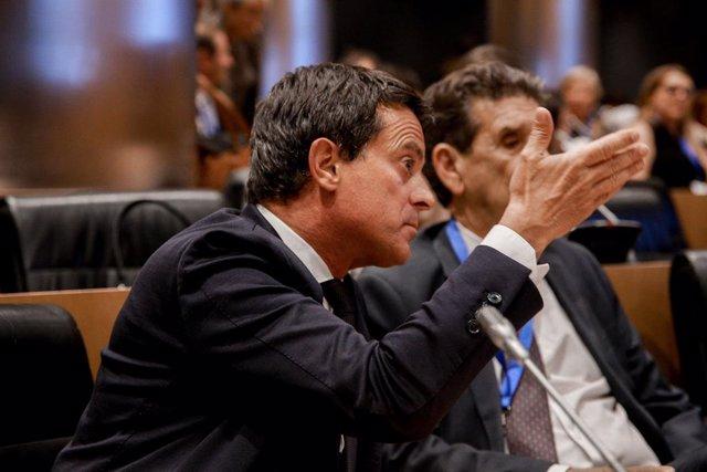 Archivo - Arxivo - El regidor de l'Ajuntament de Barcelona i exprimer ministre francès, Manuel Valls