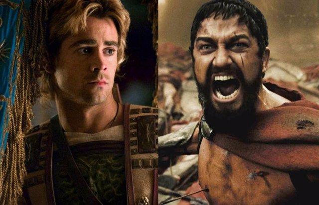 Así era la secuela de 300 de Zack Snyder con el romance gay de Alejandro Magno que Warner rechazó
