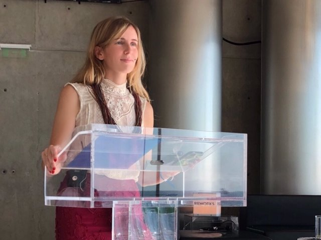 Archivo - Arxivo - L'exdelegada de la Generalitat als Estats Units, Victòria Alsina