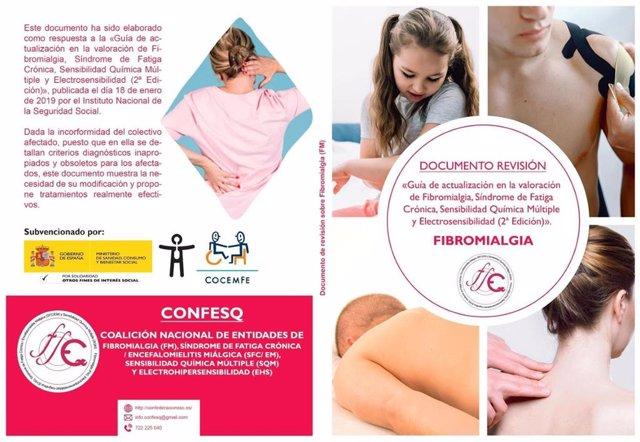 Pacientes de Fibromialgia solicitan retirar una guía