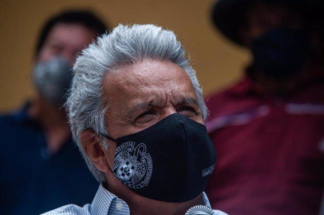 Archivo - El presidente de Ecuador, Lenín Moreno.