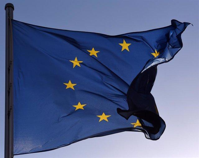 Archivo - Bandera de la Unión Europea