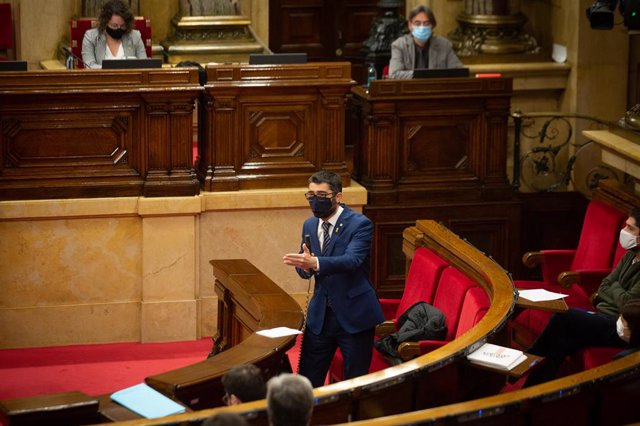 Archivo - Arxivo - El fins ara conseller de Polítiques Digitals i Administració Pública de la Generalitat, Jordi Puigneró, serà el proper vicepresident de la Generalitat
