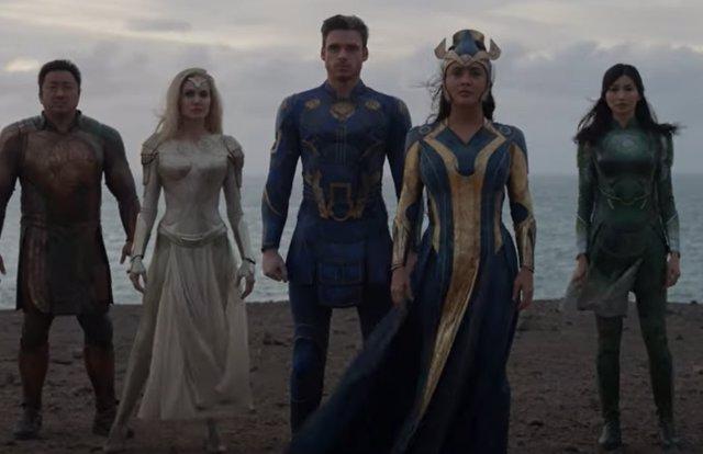 Tráiler de Eternals: Los ancestrales superhéroes de Marvel se preguntan quién lidera ahora los Vengadores