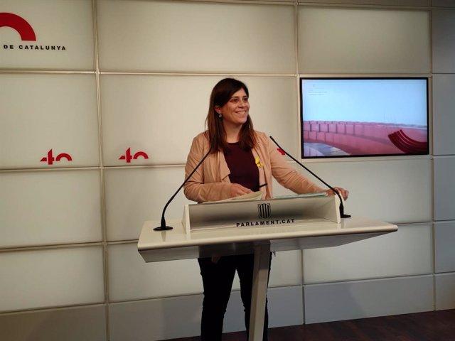 Archivo - Arxivo - La portaveu de Junts en el Parlament, Gemma Geis