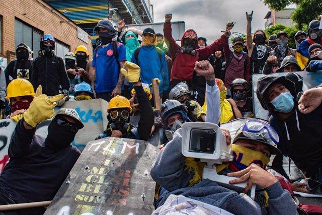 Manifestación contra el Gobierno en Medellín