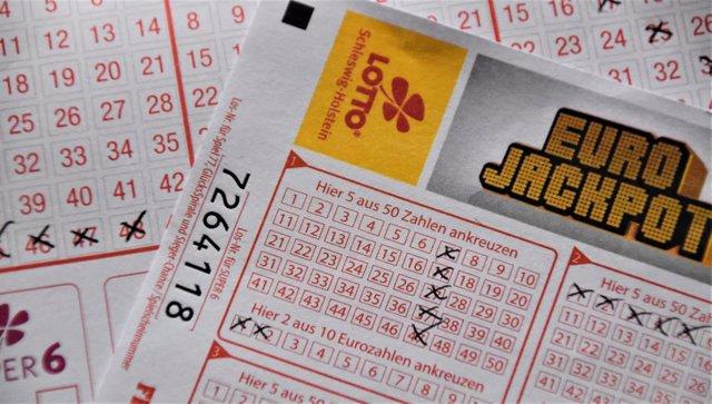Billete de lotería.