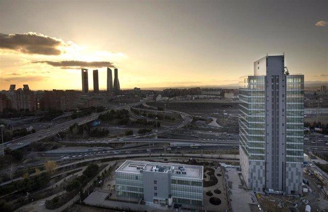 Archivo - Vista de Madrid