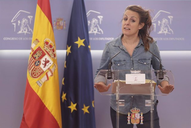 La diputada de la CUP al Congrés, Mireia Vehí.