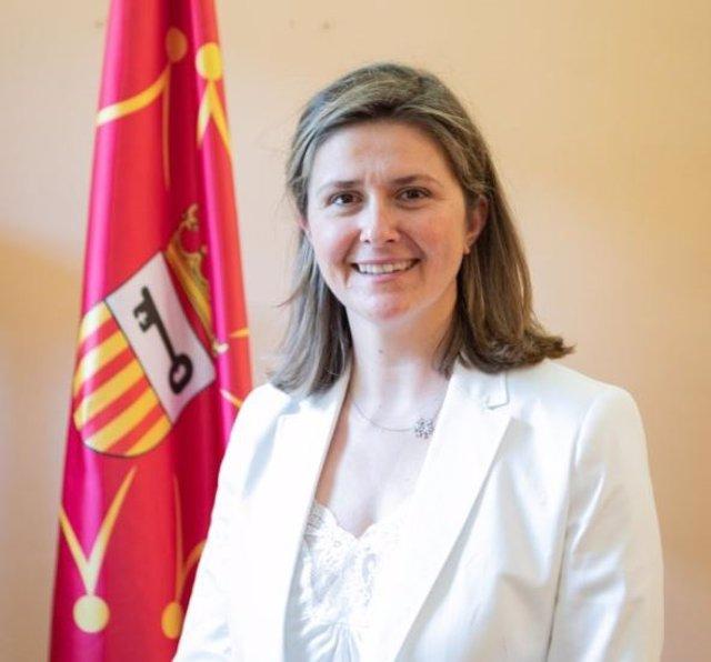 La síndica d'Aran, Maria Vergés.
