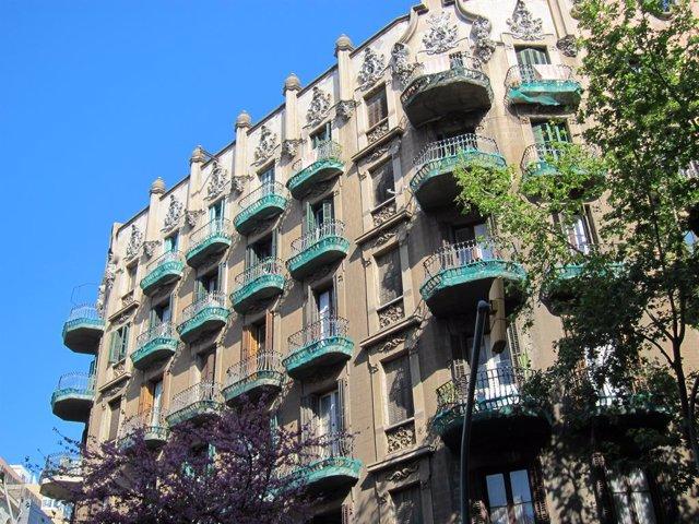 Archivo - Arxiu - Edifici de l'Eixample de Barcelona.