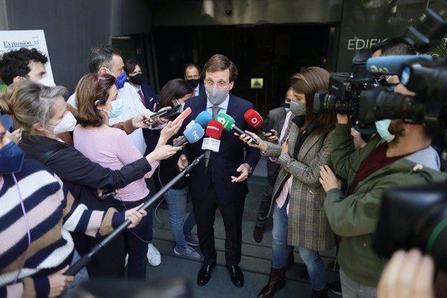 Arxiu - L'alcalde de Madrid, José Luis Martínez-Almeida.