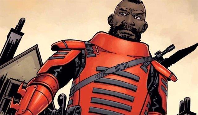 The Walking Dead: Primera imagen de Mercer, caudillo de la Commonwealth, con su armadura roja