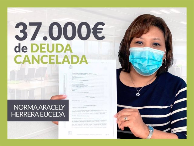 Norma Aracely, exonerada con Repara Tu Deuda