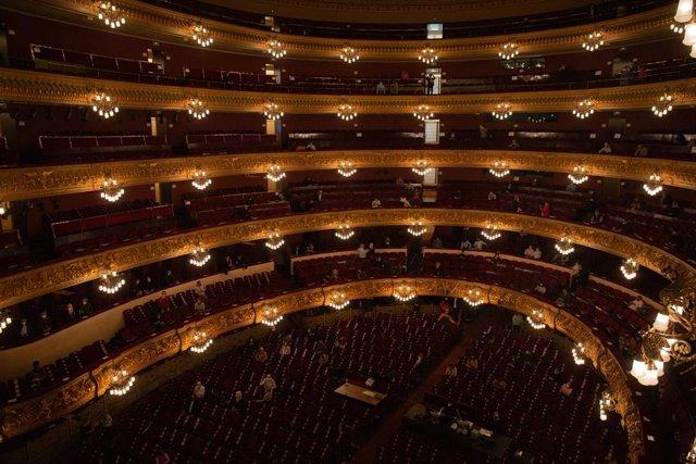 Archivo - Arxiu - El Gran Teatre del Liceu de Barcelona.