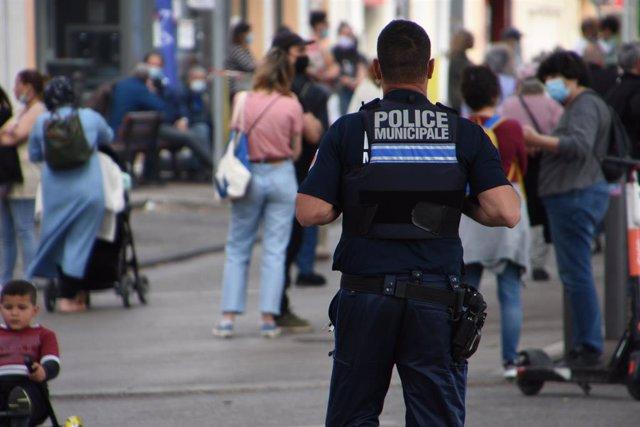 Agente de la Policía municipal en Marsella