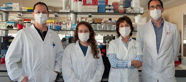 Vicent Ribas, Samantha Morón, Anna Novials y Joan-Marc Servitja