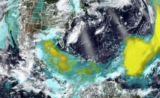 Efectos de la tormenta de polvo Godzilla