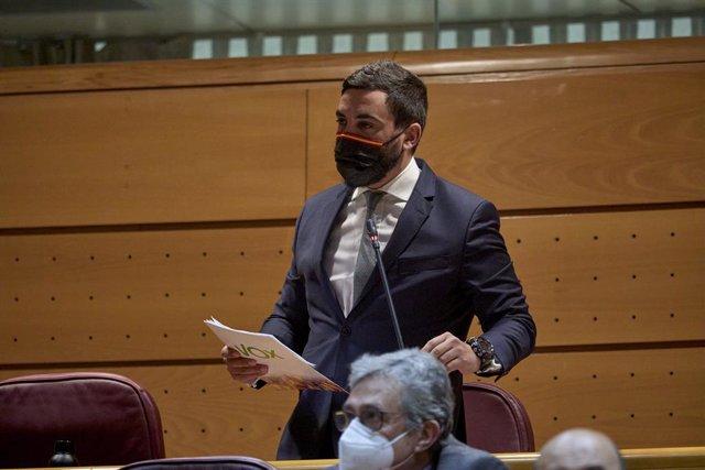 Archivo - Arxiu - El portaveu de Vox al Senat, Jacobo González-Robatto.