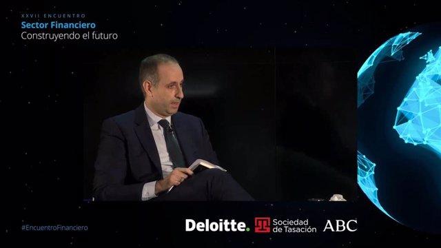 Archivo - Presidente de Frob, Jaime Ponce, en XXVII Encuentro Sector Financiero