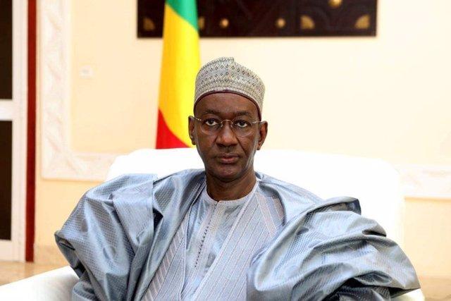 Archivo - Moctar Ouane, primer ministro del Gobierno de transición de Malí.