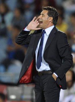 Archivo - Michel, entrenador del Getafe