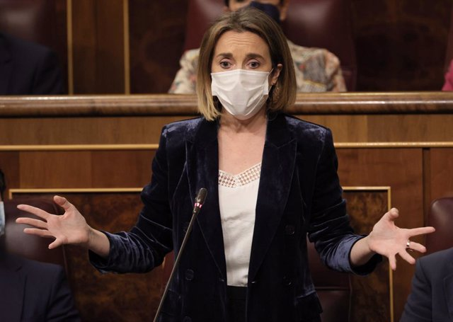 La portaveu del PP al Congrés dels Diputats, Cuca Gamarra.