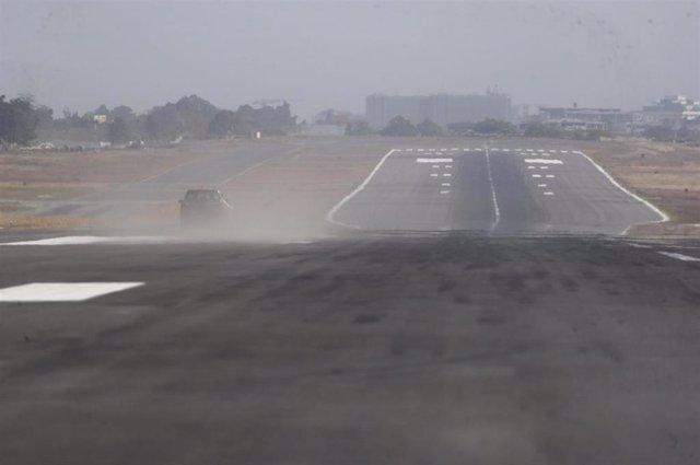 Archivo - Aerouperto Internacional de La Aurora, en Guatemala